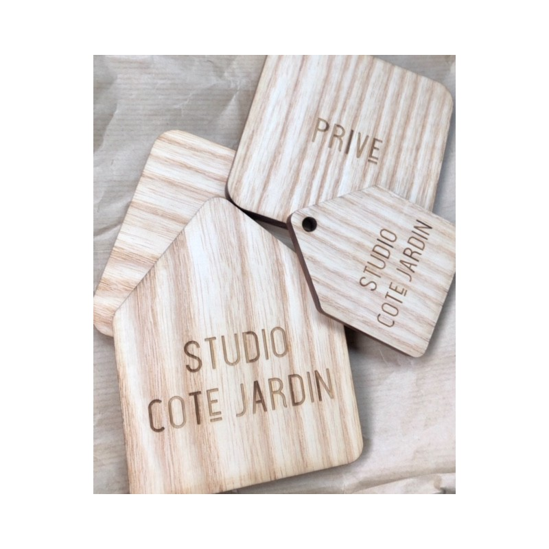 Plaques en bois personnalisables, (envoyez-nous vos demandes par mail).