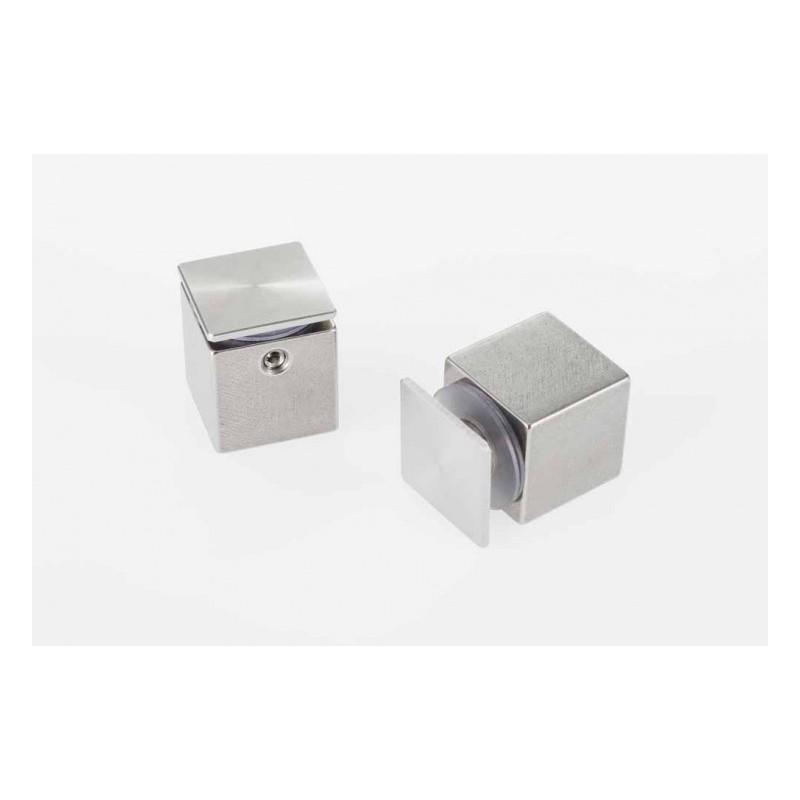 Entretoise inox 25/25 (écart de 25 mm entre mur et plaque).