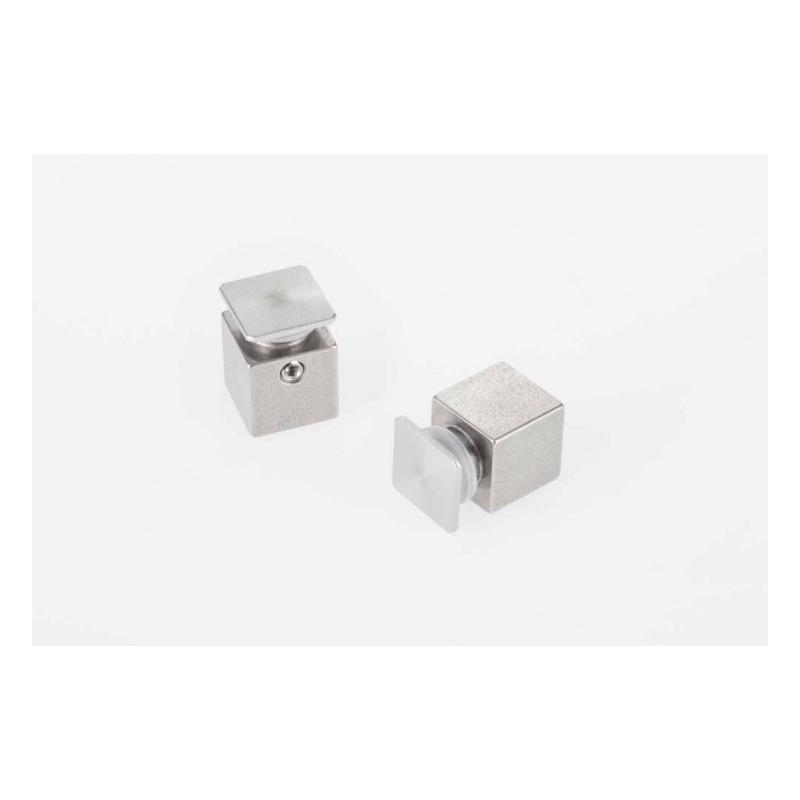 Entretoise inox 15/15 (écart de 15 mm entre mur et plaque).